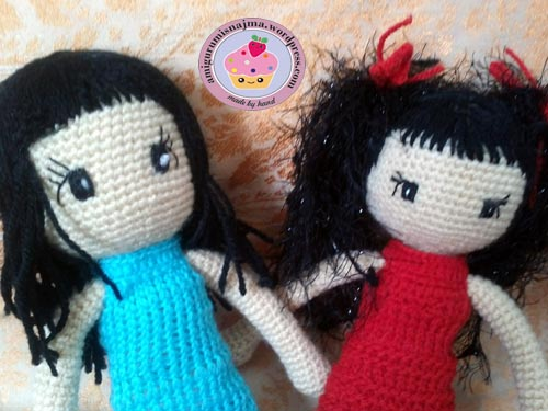 crochet doll gorjuss toy muñeca ganchillo najma11
