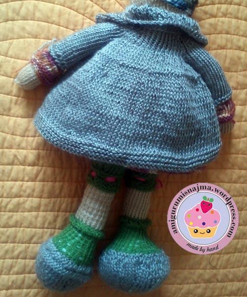 knitted doll Mandy muñeca tejida tricot  najma03