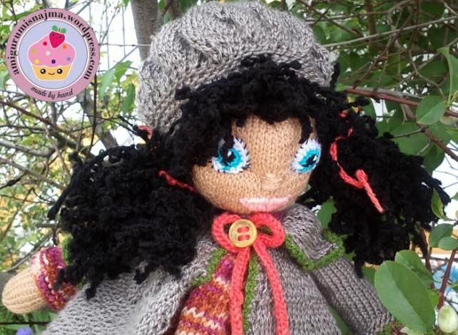 knitted doll Mandy muñeca tejida tricot  najma13