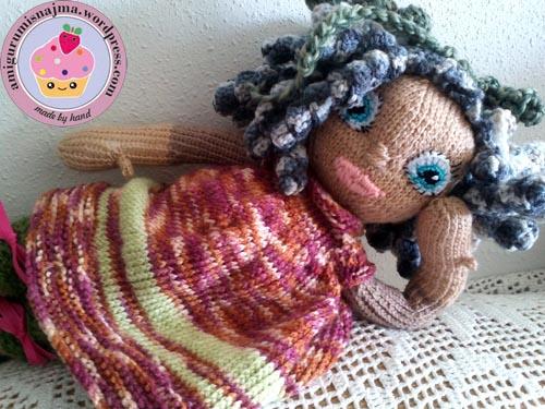 knitted doll muñeca tejida tricot  najma07