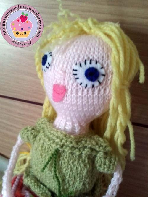 knitted doll violet muñeca tejida tricot  najma02