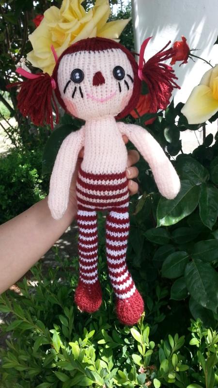 raggedy ann knit