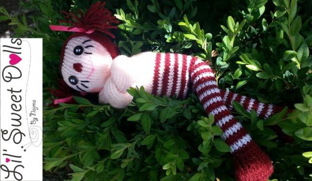 raggedy ann knit doll