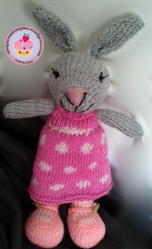 knitted bunny tricot  najma01