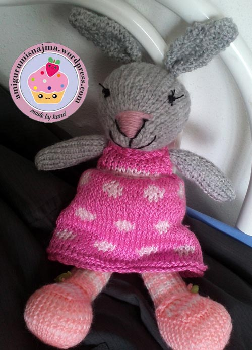 knitted bunny tricot  najma02