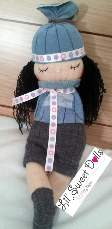 muñecas calcetin sock doll lil sweet dolls najma02