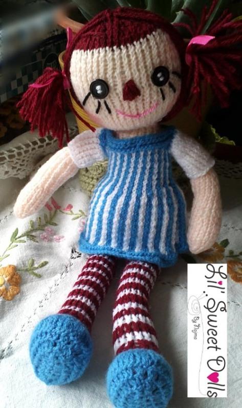 raggedy Ann knit doll najma01