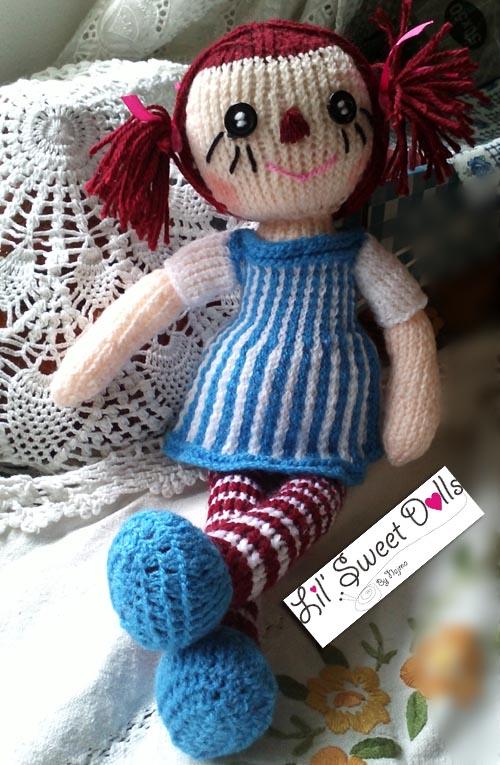 raggedy Ann knit doll najma02