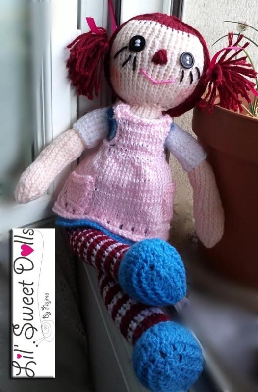 raggedy Ann knit doll najma03