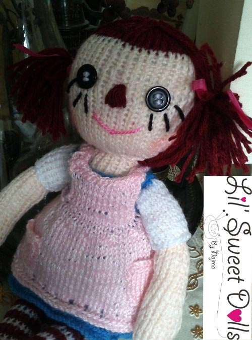 raggedy Ann knit doll najma08