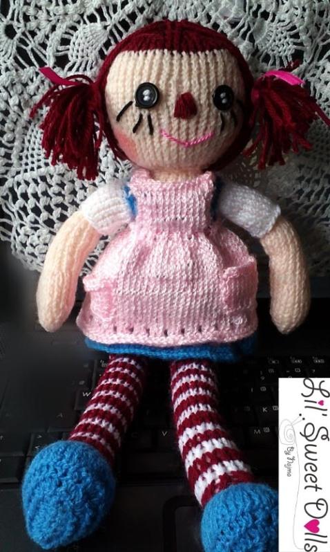raggedy Ann knit doll najma09