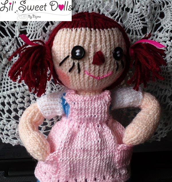 raggedy Ann knit doll najma10