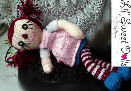 raggedy Ann knit doll najma11
