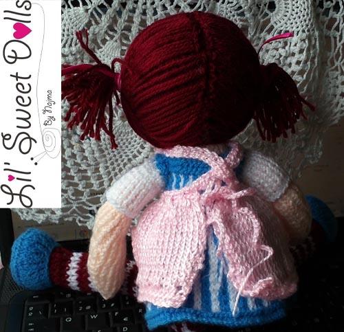 raggedy Ann knit doll najma12