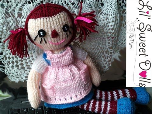 raggedy Ann knit doll najma13