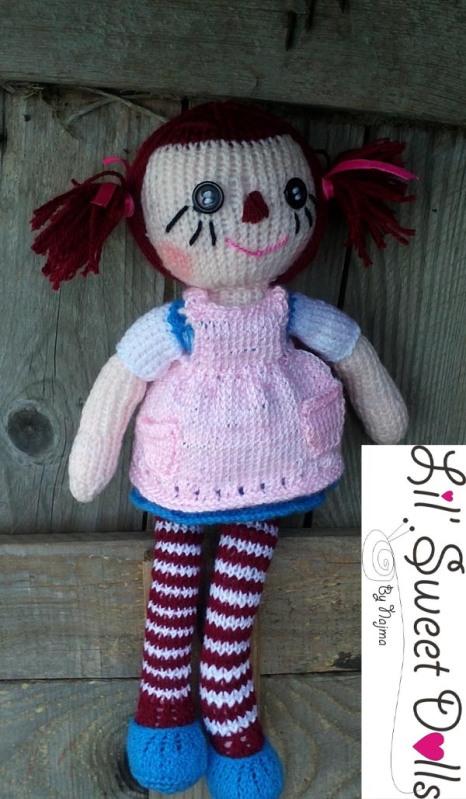 raggedy Ann knit doll najma14