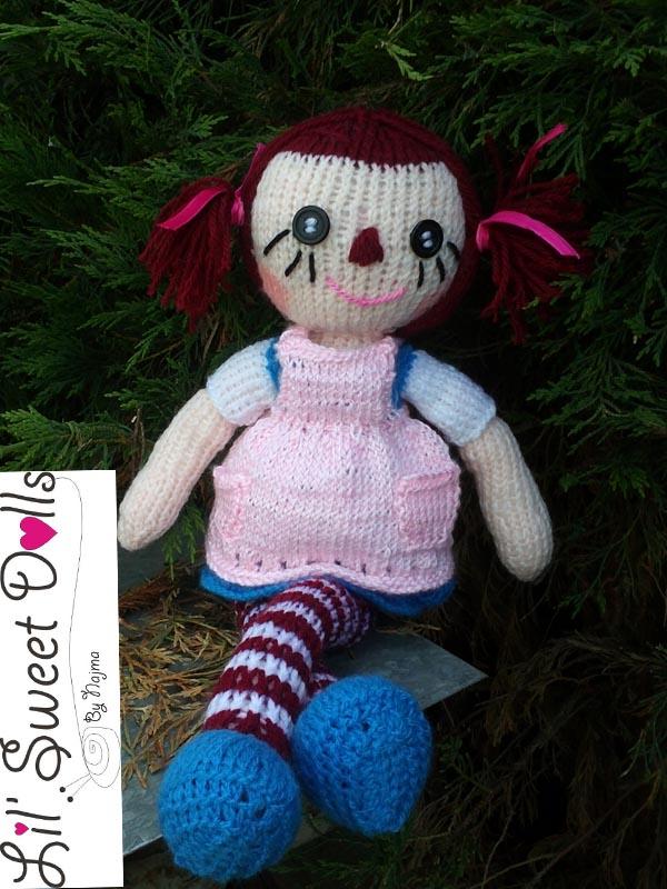 raggedy Ann knit doll najma16