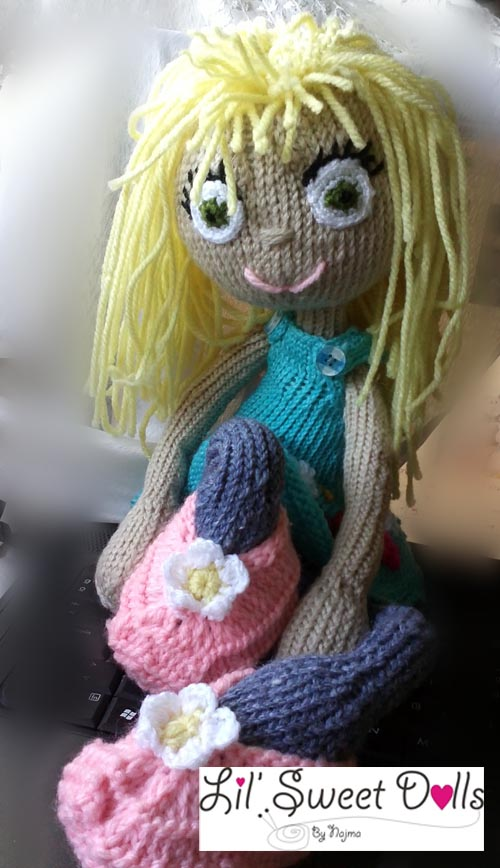 arne and carlos knitted  doll  najma04