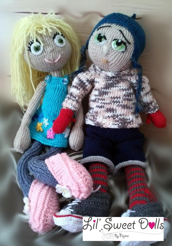 arne and carlos knitted  doll  najma08