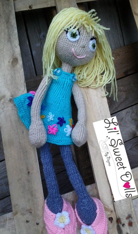 arne and carlos knitted  doll  najma15
