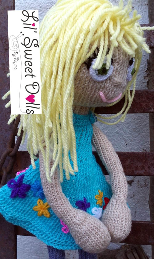 arne and carlos knitted  doll  najma24