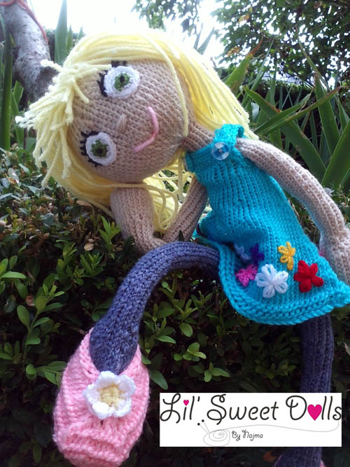 arne and carlos knitted  doll  najma30
