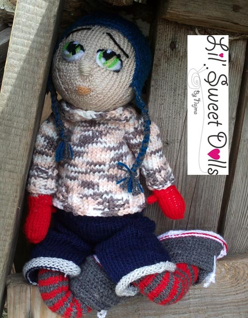 Marco knitted  doll najma02