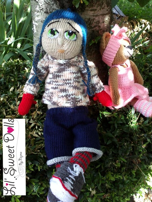 Marco knitted  doll najma04