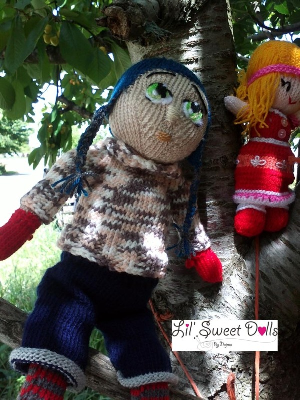 Marco knitted  doll najma06