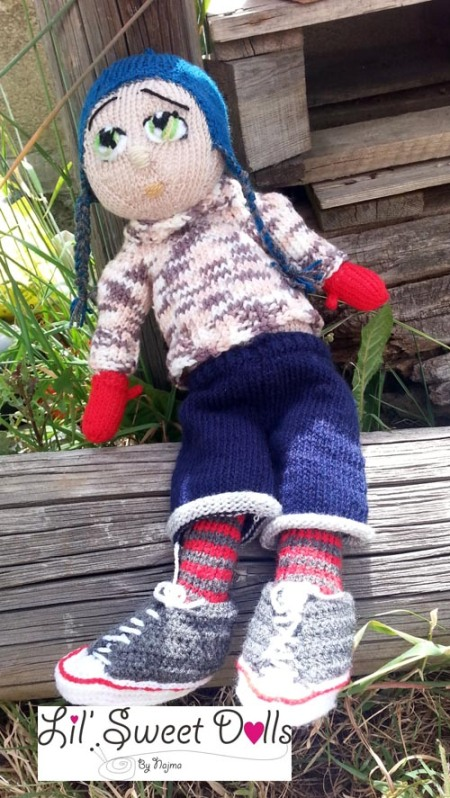 Marco knitted  doll najma07