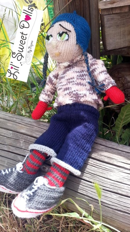 Marco knitted  doll najma08