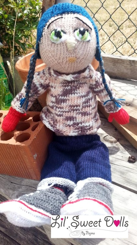 Marco knitted  doll najma09