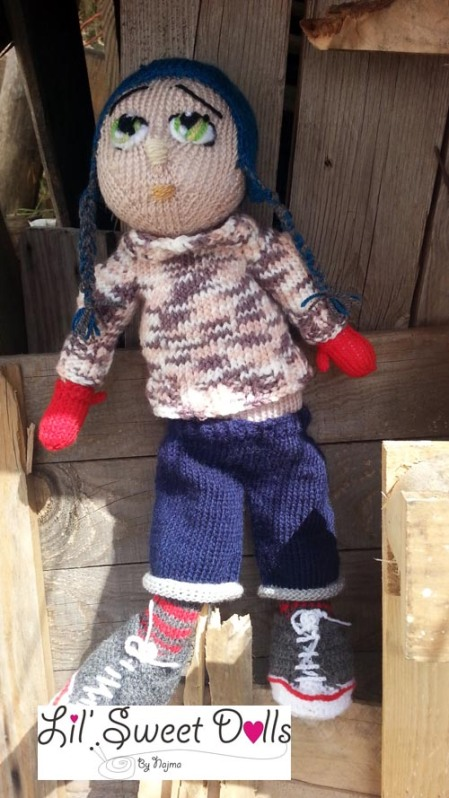 Marco knitted  doll najma11