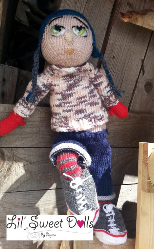 Marco knitted  doll najma13