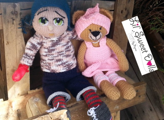 Marco knitted  doll najma15