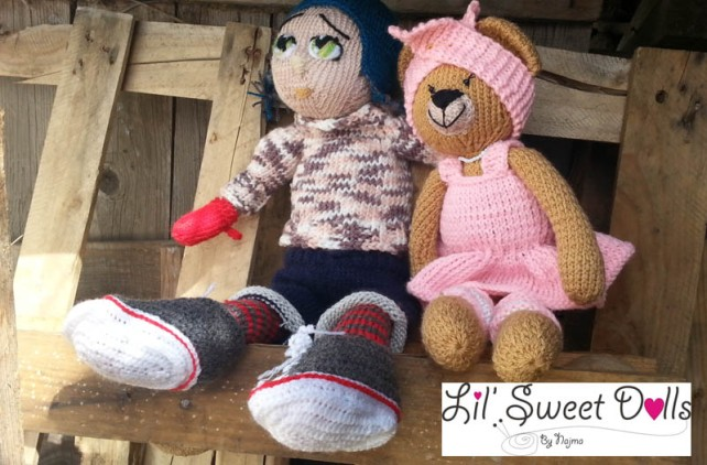 Marco knitted  doll najma16