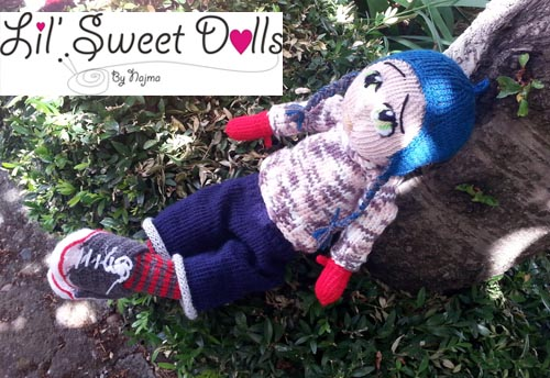 Marco knitted  doll najma17