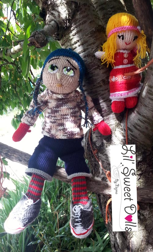 Marco knitted  doll najma18