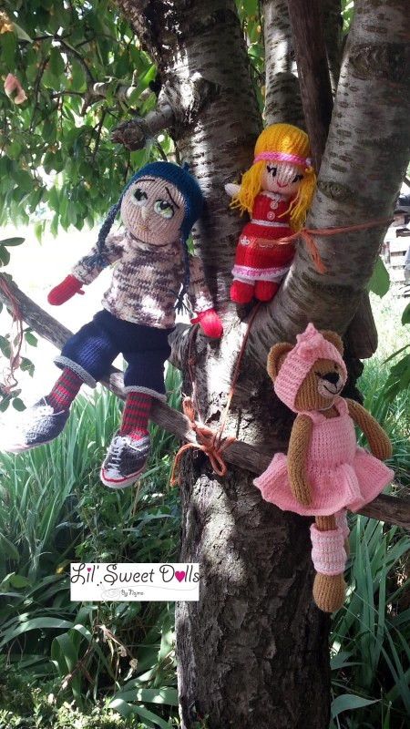 Marco knitted  doll najma19