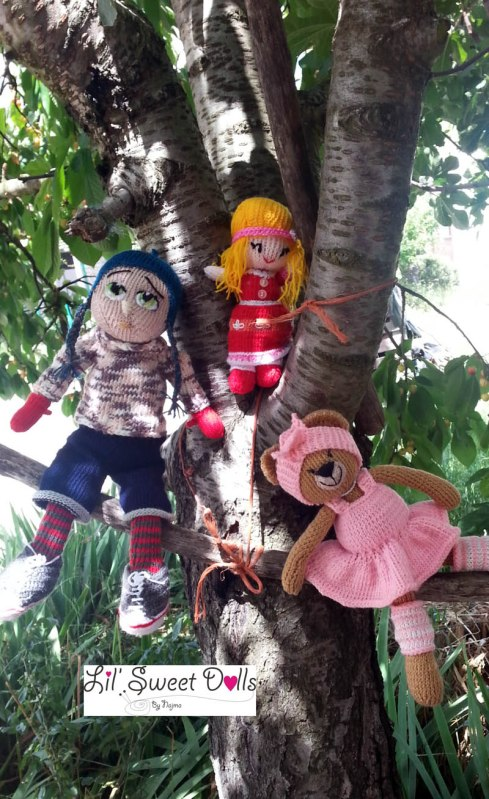 Marco knitted  doll najma20