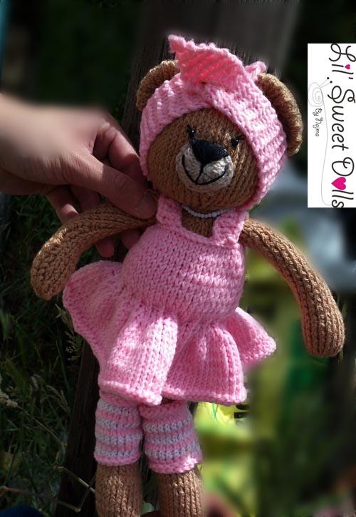 osita bailarina knitted  doll najma02