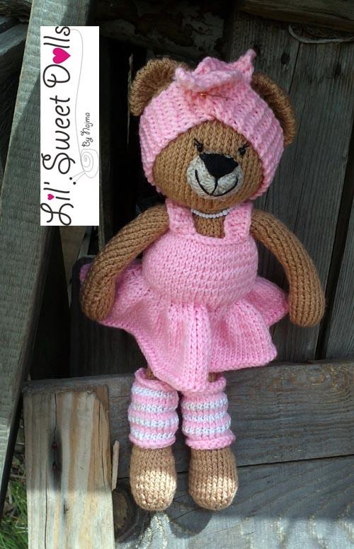 osita bailarina knitted  doll najma03