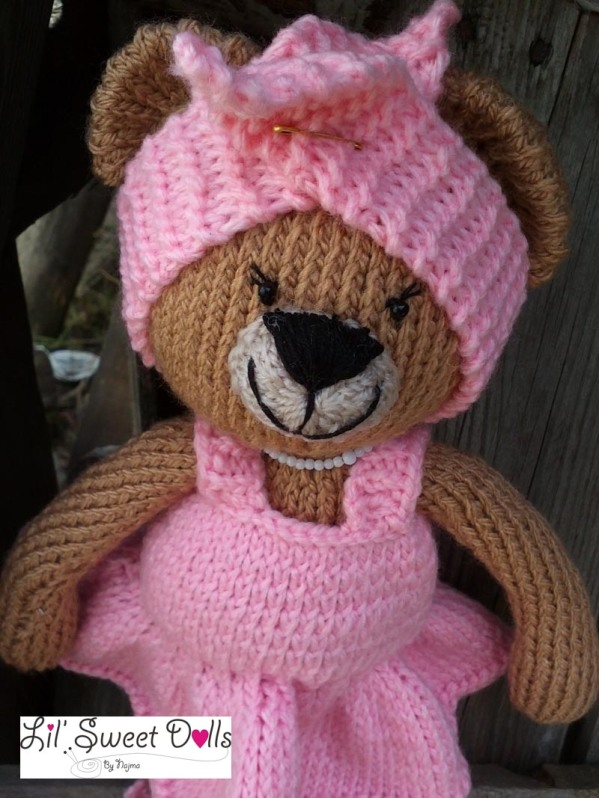 osita bailarina knitted  doll najma04