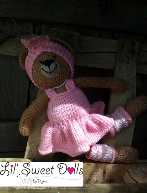 osita bailarina knitted  doll najma05