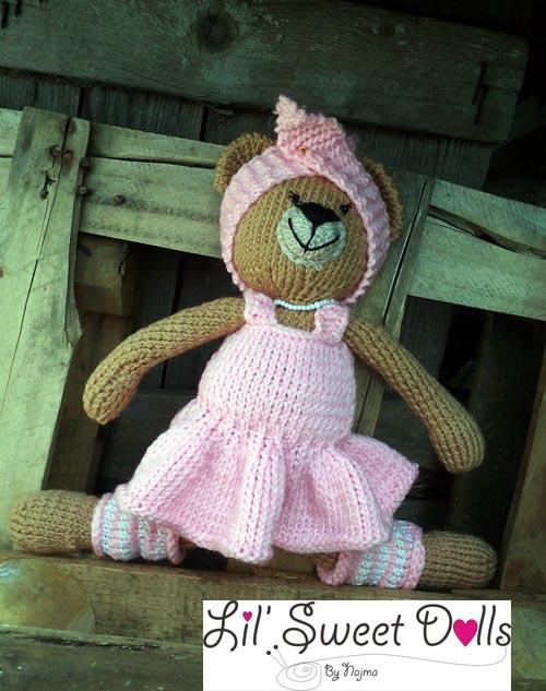 osita bailarina knitted  doll najma06