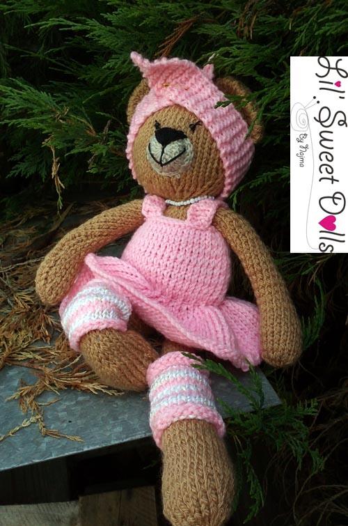 osita bailarina knitted  doll najma08