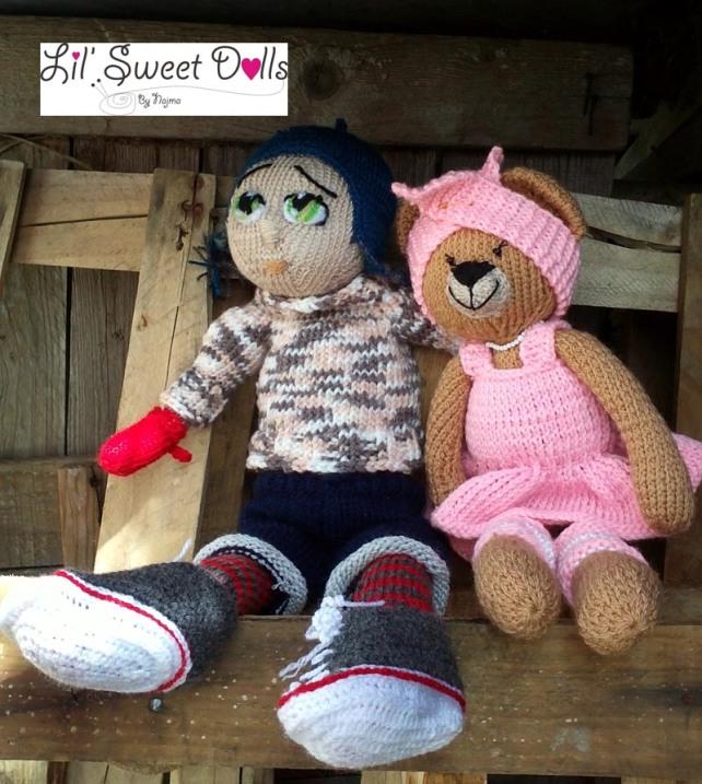 osita bailarina knitted  doll najma09