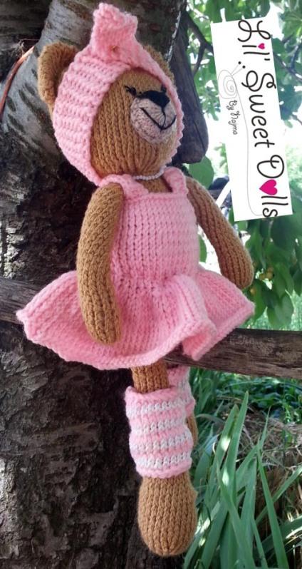 osita bailarina knitted  doll najma14