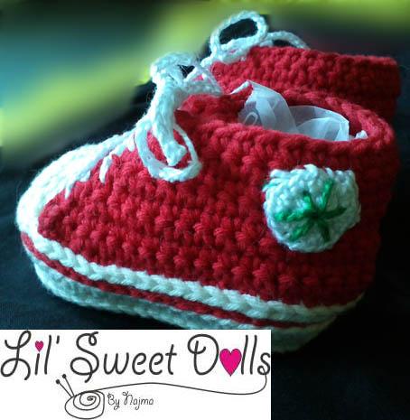 baby booties crochet botitas bebe