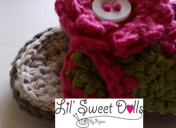 baby crochet sandal shoes sandalia ganchillo